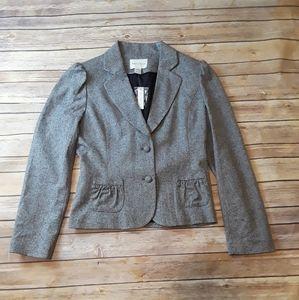 White House Black Market Two Button Blazer Jacket